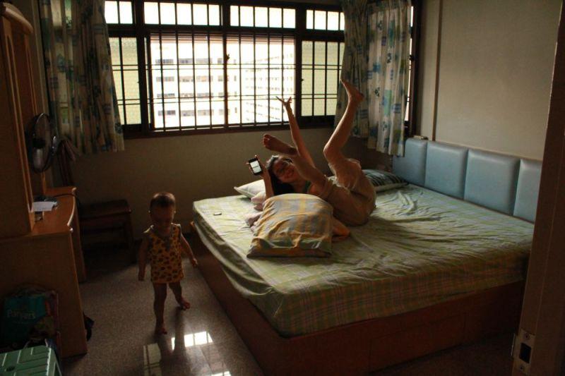Phòng ngủ của Mai