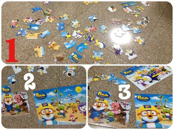 Puzzle 3 bộ Pororo